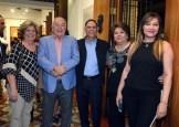 María Sevilla, Jesús Sánchez, Cristóbal Valdez, Martha Rancier y Rosa Valdez.