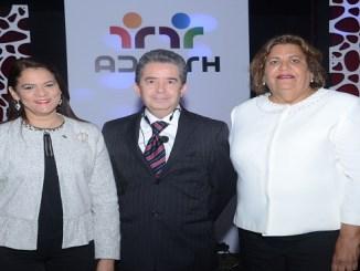 Lourdes Guzmán, Fernando Senties y Amarilis García