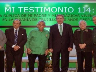 Luisa De Peña Díaz, Ramón Andrés Blanco Fernández, Julio Escoto Santana, Adriano Miguel Tejeda, Leandro Guzmán y Francisco González.