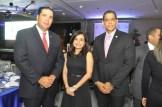 Leo Morales Troncoso, Rebeca Meléndez y Pablo de la Rosa.