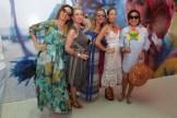 Monica Carrizo, Paloma Pascual, Ahinoa Alfagaza, Teresa de la Pisa y Rosanna Rivera