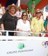 Sandra de Batlle, Rosanna Mathiss, Nora de Thomas, Vrigina Dalmau, Graciela de Cabral