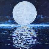 El artista Michel Bizet rinde culto a la madre tierra en su muestra.