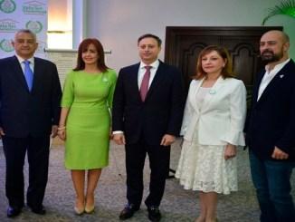 José Manuel Hernández Peguero, Yanira Fondeur, Jean Alain Rodríguez, Francia Hernández y Ritxar Bacete