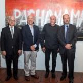 Cayo Claudio Espinal, Francisco Domínguez Brito, Michel Bizet y José Gómez.