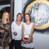 Patricia Dumas, Ilham Vantieghem y Claire Gonzales.
