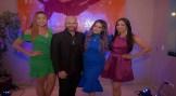 Gabriela Franceschini, Eduardo Cardona, Norin Gutierrez y Karen Robledo