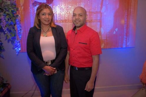 Wendy Santana y Robinson Rodriguez