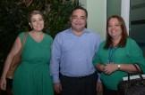 Lisbeth Sahad, Marcos Cochon y Karen Hued