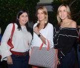 Fanny Subero, Rochelli Subero y Clara Báez