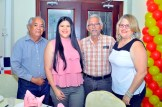 Manuel Ben, Patricia Chong, Mario Chong y Julia Collado de Chong.