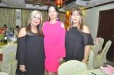 Miosotis Grullon, Violeta Joa y Kenia Chez.