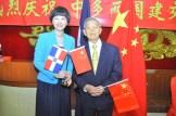 Fu Xinrong y Su King Fung.
