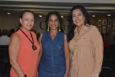 Estherlinda Diaz, Zoila Fernandez y Marjorie Santelises.