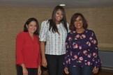 Nelly Ciprian, Madeline Rosario y Nurys Veras.