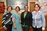 Cielo Reynoso, Fiona Almonte, Nurys Veras y Nelly de Castillo.
