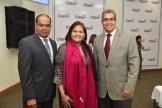 John Hernandez, Patricia Cuevas y Jordy Franjul.