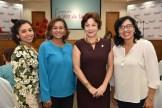 Gloria Goico, Maria Rosa Mateo, Belkis Cocco y Nancy Mones.