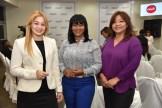 Michelle Cuervo, Fleuris Dotel y Zoila Martinez.