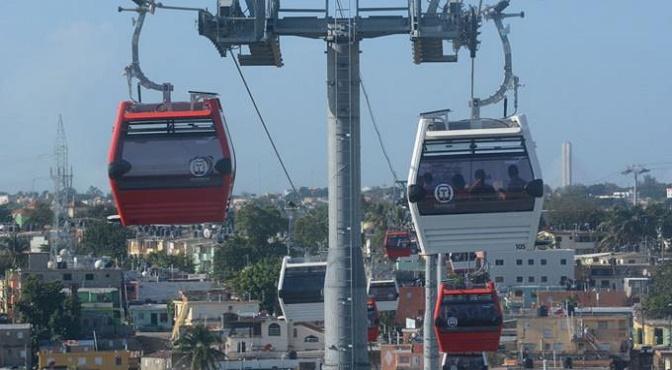 Inauguran hoy el Teleférico de Santo Domingo
