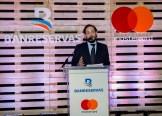 Mateo Lleras, gerente de Ventas y Desarrollo de Productos Comerciales para el Caribe de Mastercard, explica las ventajas del nuevo producto.