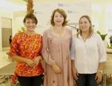 Lady Reyes, Zayenka Martinez y Yohanna Hilario