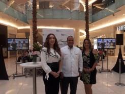 Miralba Ruiz, Rufino Santos y Jennifer Betancourt