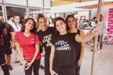 Valerie Jaquez, Sky Jaquez, Rosa Arencibia y Carmen Jaquez