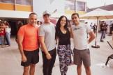 Victor Tirado, Hector Sosa, Aida Giudicelli y Pedro Alvarez
