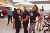 Alejandra Ortiz, Emilio de los Santos y Jessica Nina