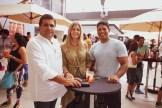 Claudio Marra, Gianna De Marra y Jaycel Garrido
