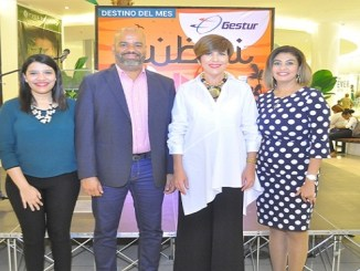 Laura Ruiz, Jose Augusto Castro, Theresa Sullivan y Amal Youssef.