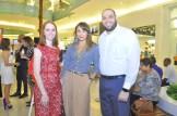 Ana Neumann, Kristel Izquierdo y Tomas Rosario.