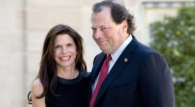 Quiénes son Marc y Lynne Benioff, la pareja de millonarios de Silicon Valley que compró la revista Time