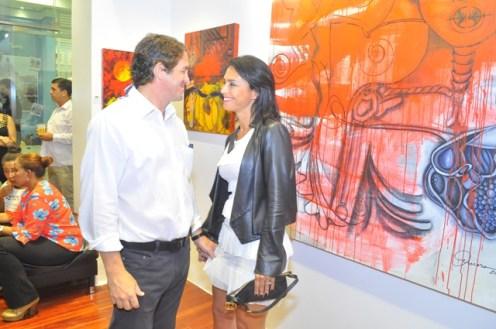 Leo Matos y Carolina Matos.