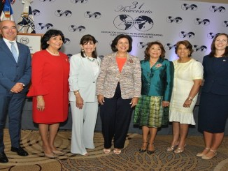 Jean Lucca Grippa, Dolly Nin, Robin Bernstein, Margarita Cedeño de Fernandez, Fior Rodriguez, Raysa Mejia, y Shaunna Hemingway