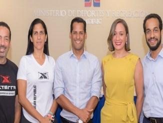Polibio Schiffino, Thais Herrera, Marcos Díaz, Rosanna Pelaez y Manuel Medrano