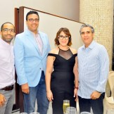 Cesar Portes, Roberto Concepcion, Wandy Tactuk y Cristian Nin.