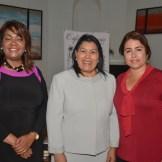 Amarilys Duran, Milagros Ureña y Liz Acevedo.