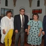 Mateo Morrison, Minerva del Risco, Jochy Herrera, Verónica Sención y Jose Mármol.