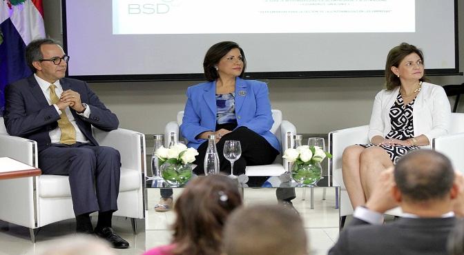 Margarita Cedeño encabeza presentación de herramientas al sector privado con miras a alcanzar los ODS