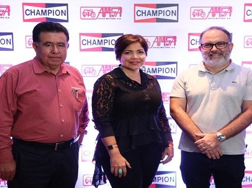Noé García, Danilsa Polanco y Patrick Irasque