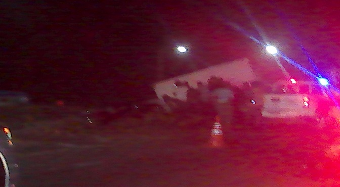Aparatoso accidente en Autopista las Américas