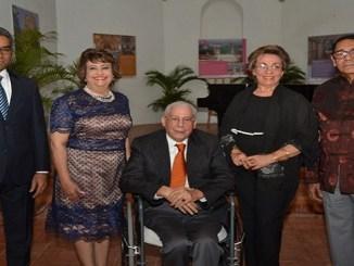 Elioenai Medina, Veronica Sencion, Jose Delmonte, Ondina Matos y Frank Lendor.