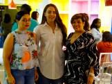 Gina Almonte, Isaura Taveras y Ana Mercy Otañez