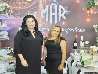Astrih Parodi y Janet Diaz.