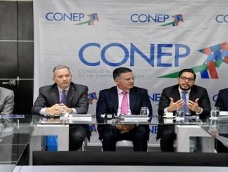 Carlos Augusto Pared Vidal, director ejecutivo de República Dominicana ante el BID, mientras exponía sobre el apoyo del Gobierno al PPP Américas 2019
