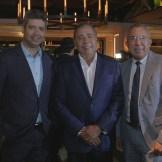 José Rosado, Fermín Acosta y Héctor Bretón.