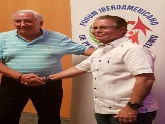 Oscar Guida, vicepresidente y Luis José Chávez, presidente de FIPETUR