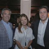 Rafael Llaneza, Mónica Armenteros y Pedro Bonilla.